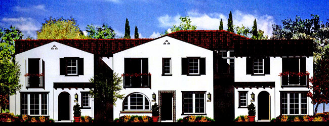 Seville at Aldea Proposed Rendering